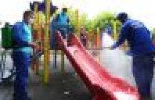 Bağcılar'da Hijyenik Park Temiz Oyun Grupları...