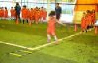 Başakşehir'de spor eğitimi 4 yaşında başlıyor