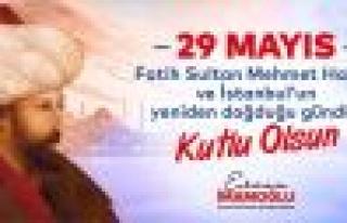 İBB' den Görkemli İstanbul Fetih Kutlaması...