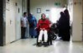 Tekerlekli sandalye hayallerini gerçekleştirmesine...