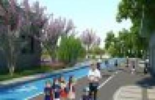 Trafik Eğitim Pisti ve Parkı inşa ediliyor