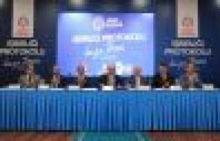 ''Zemin İstanbul'' için protokol imzalandı