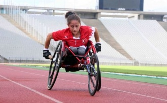 Engelli atlet Nurşah Usta Avrupa ikincisi oldu