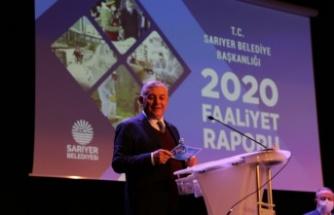 Sarıyer'in 2020 Faaliyet Raporu Meclisten Geçti
