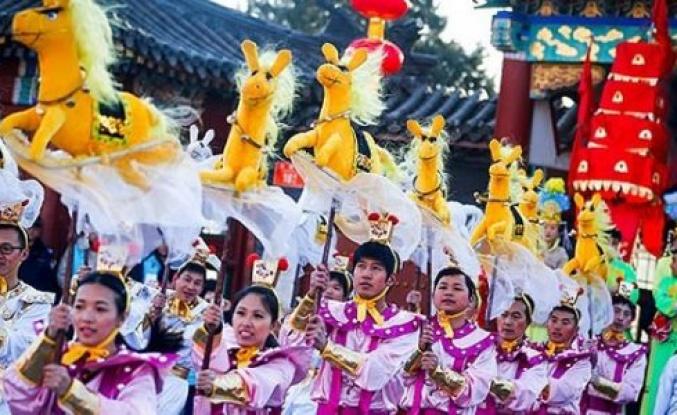 Çinliler At Yılı'nı kutladı