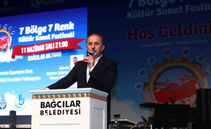 Kastamonu ve Zonguldaklılar 7 Bölge 7 Renk Festivali'nde coştu